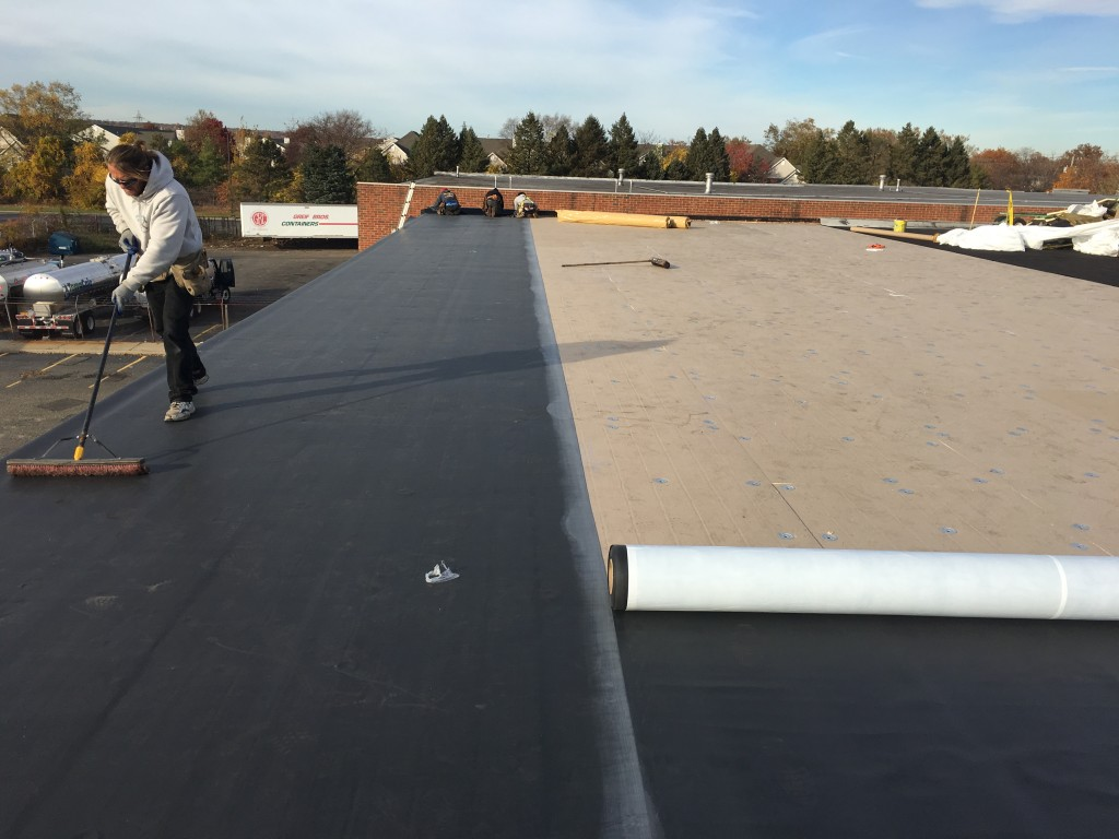 Epdm Roof Systems Are A Great Way Of Covering A Commercial