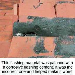 flashing-corrosion