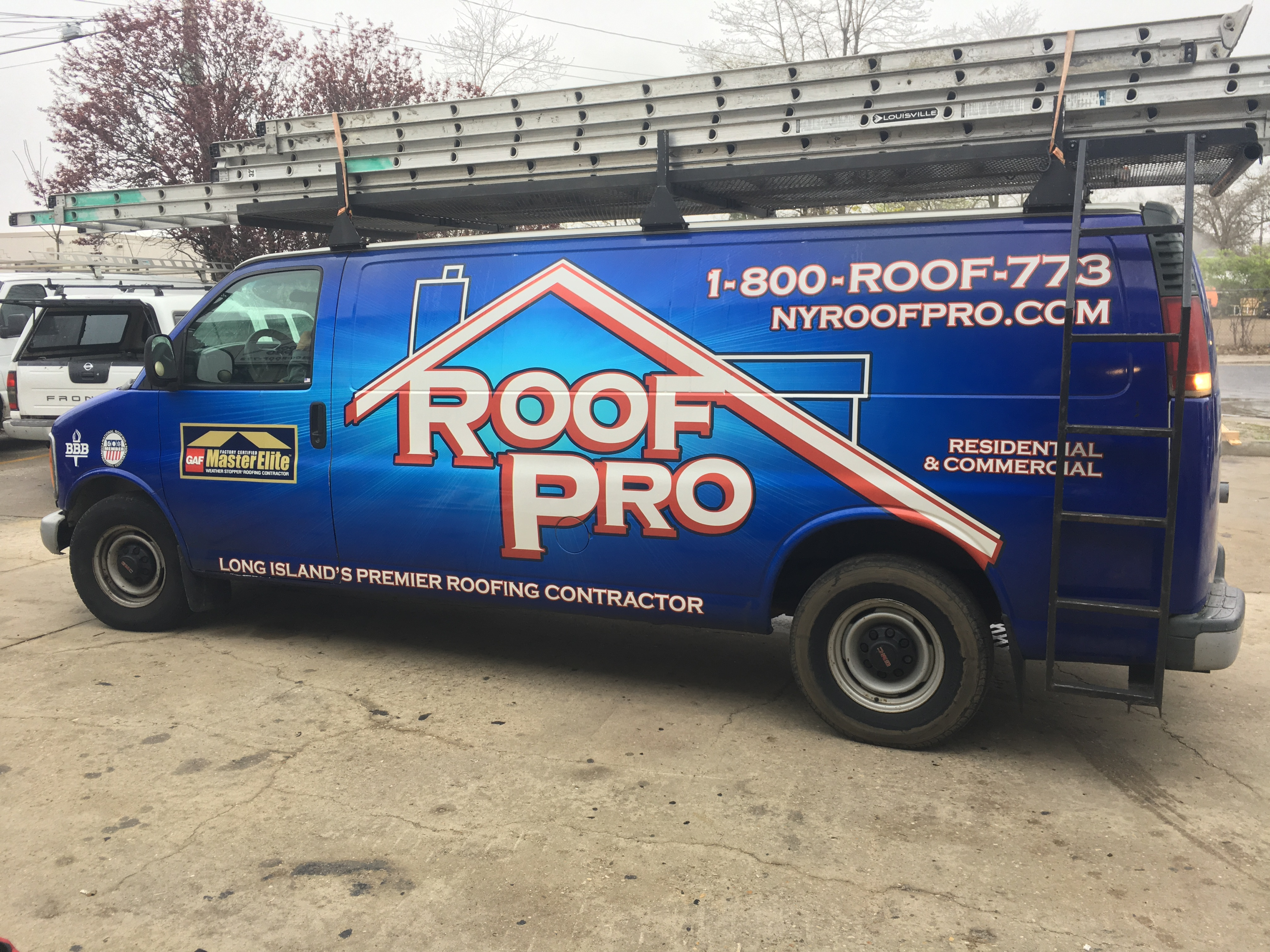 New york suffolk county sayville - We Pull Up With Our Brand New Van Added That S To The Fleet And Start Setting Up The Equipment To Cut Flashing And Siding For The Job At Hand
